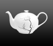 Dibbern Fine Bone China Black Forest - Teapot round 1.30 l