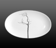 Dibbern Fine Bone China Black Forest - Oval dish 24cm
