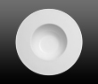 Dibbern Fine Bone China Pure - Deep plate wide rim 26cm 0.40 l