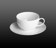 Dibbern Fine Bone China Classic - Breakfast cup + saucer 0.32 l